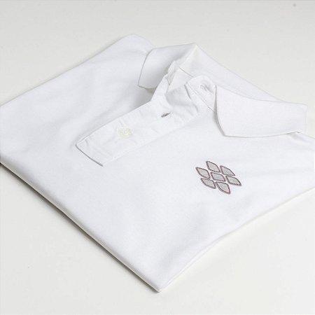 Camisa Polo Zebra Masculina Branco Serie RC00102-0005-003-00