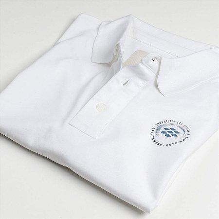 Camisa Polo Zebra Masculina Branco Serie RC00102-0005-008-00