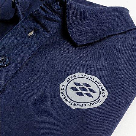 Camisa Polo Zebra Masculina Marinho Serie RC00102-0005-007-41