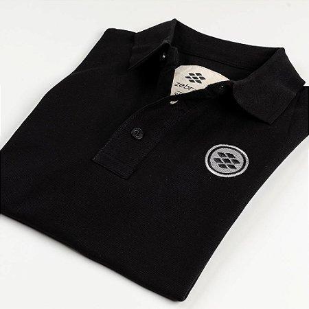 Camisa Polo Zebra Masculina Preto Serie RC00102-0005-012-10