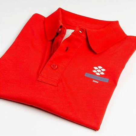 Camisa Polo Zebra Masculina Vermelho Serie RC00102-0005-004-60