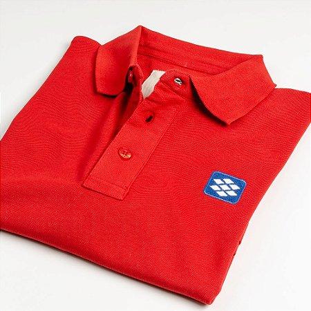 Camisa Polo Zebra Masculina Vermelho Serie RC00102-0005-009-61