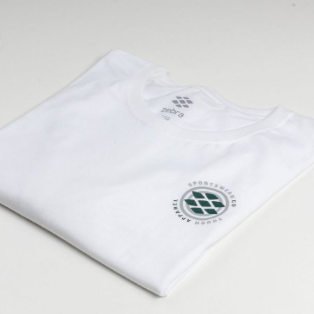 Camiseta Zebra Masculina Branco Serie RC00101-0005-002-00