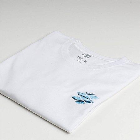 Camiseta Zebra Masculina Branco Serie RC00101-0005-009-00
