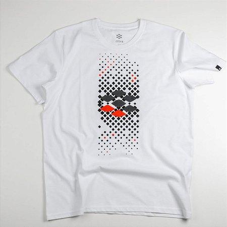 Camiseta Zebra Masculina Branco Serie RC00101-0005-026-00
