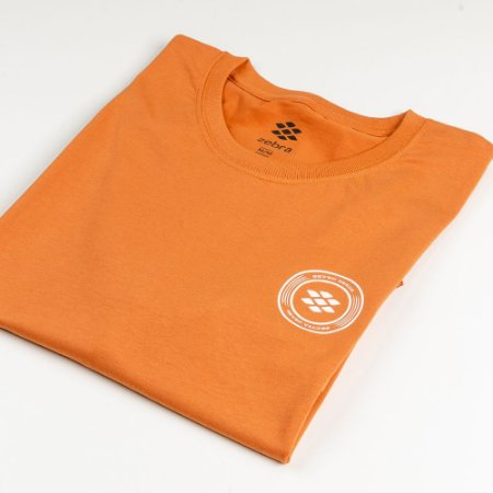 Camiseta Zebra Masculina Laranja Serie RC00101-0005-004-70