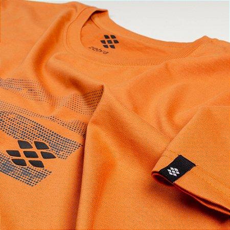 Camiseta Zebra Masculina Laranja Serie RC00101-0005-027-70