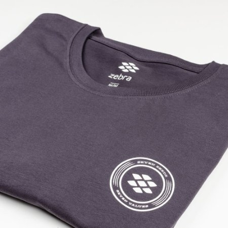 Camiseta Zebra Masculina Marinho Serie RC00101-0005-003-40