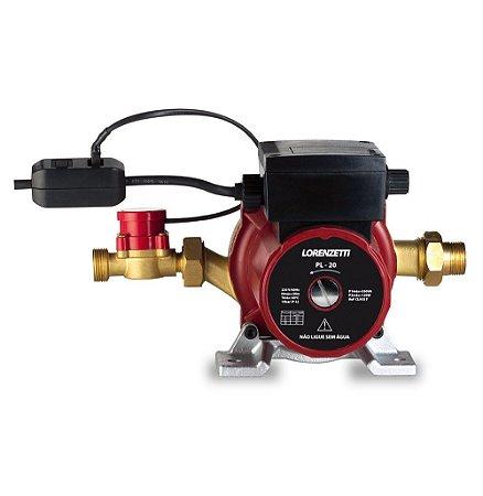 Pressurizador para aquecedor de água Lorenzetti PL 20 - 20 mca - 350W -  127V