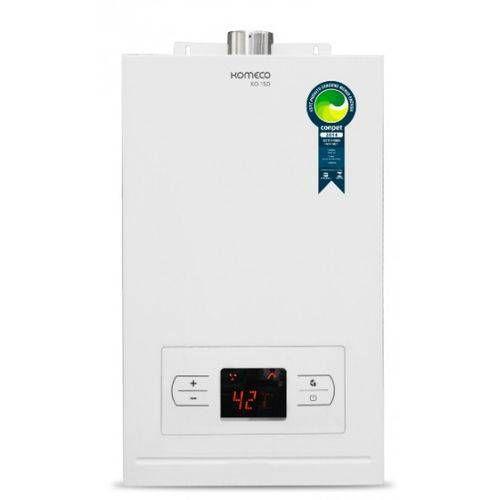 Aquecedor  de água a gás Komeco KO 15D - Digital - Exaustão Forçada - Gás Natural - Vazão 15L