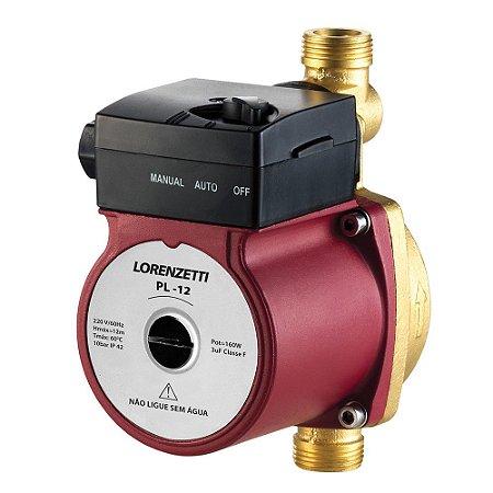 Pressurizador para aquecedor a gás Lorenzetti PL  12 - 12 mca - 160W -  220V
