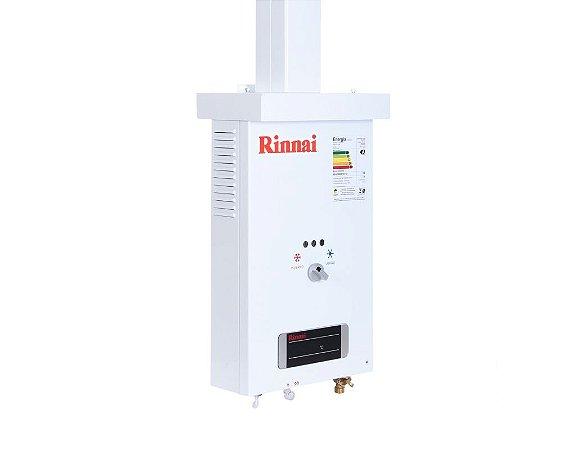 Aquecedor de água a gás Rinnai  REU 73BR - Gás Natural - Vazão 7,5L
