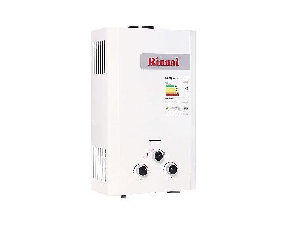Aquecedor de água a gás Rinnai REU M090 CFHB - Gás Natural - Vazão 9L