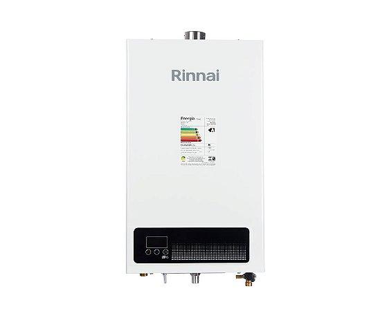 Aquecedor de água a gás Rinnai REU E150 FEHBN8 - Exaustão Forçada - Gás Natural - Vazão 15L