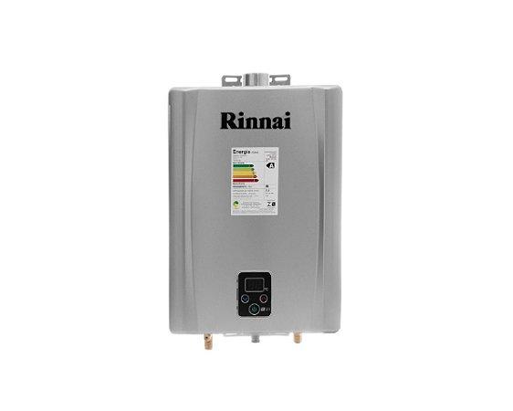 Aquecedor de água a gás Rinnai REU E210 FEHG - Exaustão Forçada - Gás Natural - Vazão 21L
