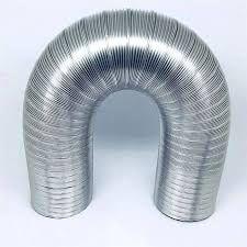 Duto corrugado para aquecedor 1 metro (60MM, 76MM, 80MM, 90MM, 100MM)