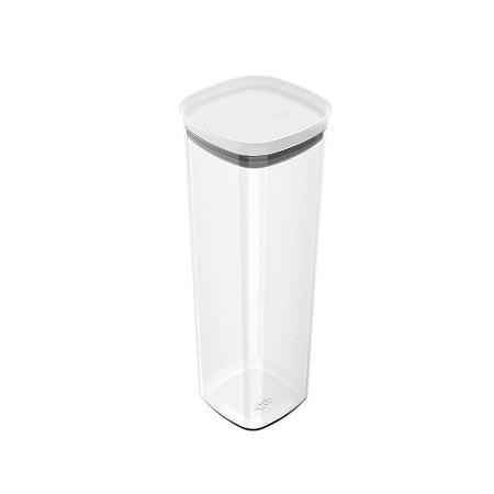 Pote Hermético Block Branco 2 Litros - Ou