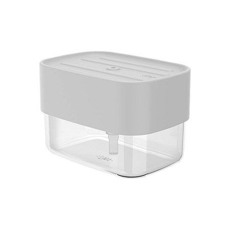 Dispenser Com Porta Esponja Trium Branco - Ou