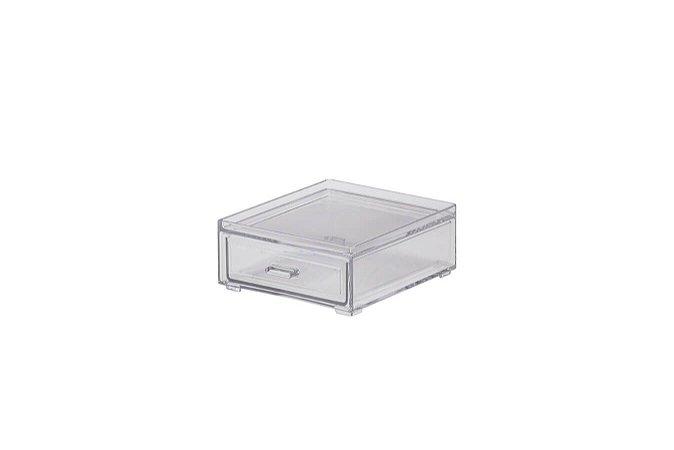 Caixa Organizadora Com Gaveta Pequena