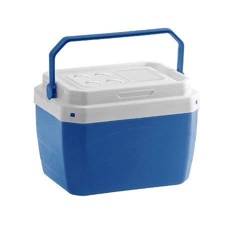 Caixa Térmica 40 Litros Azul