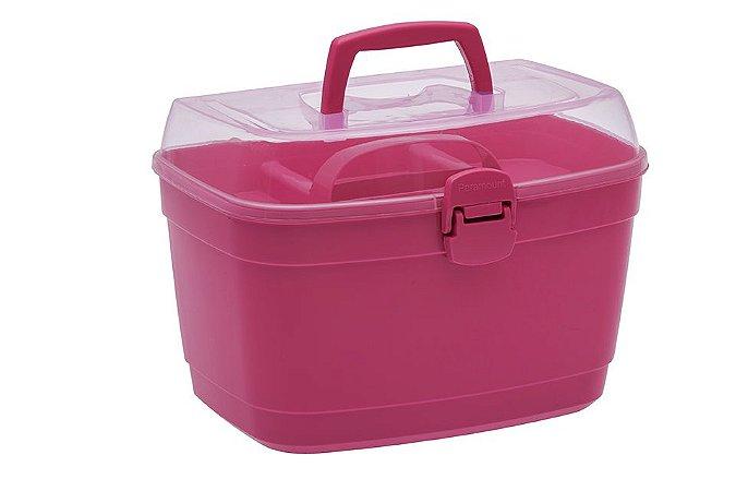 BOX MULTIUSO COM DIVISÓRIA GRANDE PINK