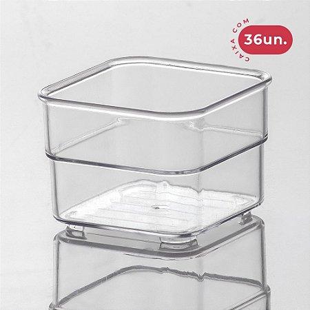 Organizador Diamond Modular Cristal - Tam 1 - 36 Unidades