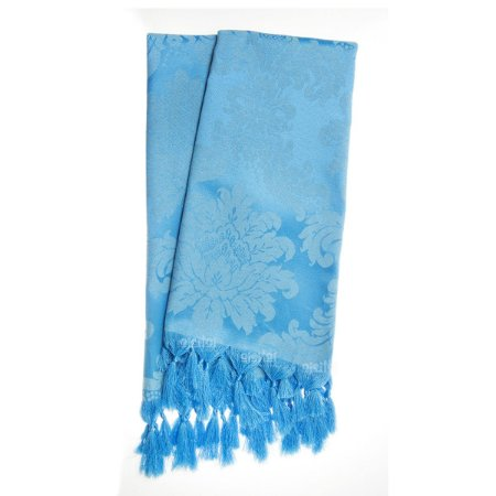 Manta Para Sofá Em Tecido Jacquard Azul Frozen Medalhão