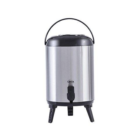 Botijão Térmico Aço Inox - 9,5 Litros