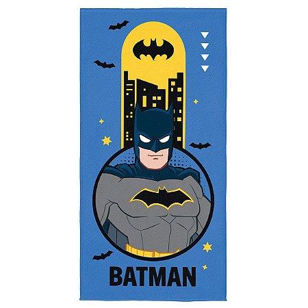 Toalha Aveludada Estampada Batman