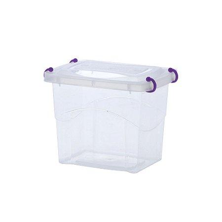 Caixa Organizadora Pratic Box 2 Litros Roxo
