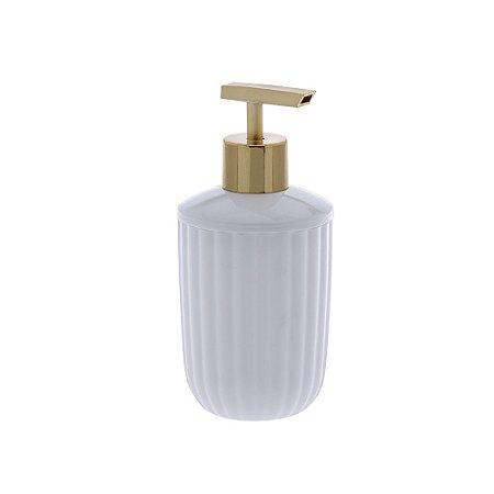 Porta Sabonete Líquido Bagno Canelatta Branco