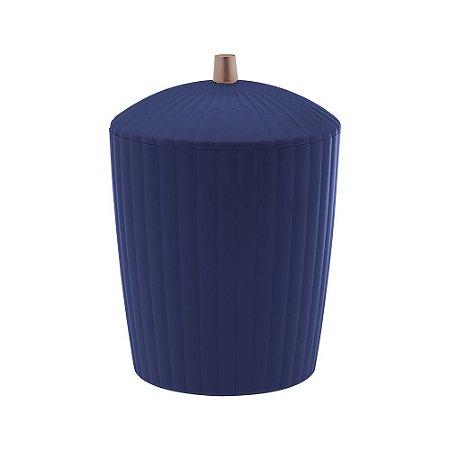 Lixeira Bagno 7 Litros Canelatta Azul