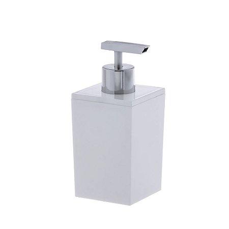 Porta Sabonete Líquido Bagno Quadratta Branco