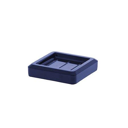 Saboneteira Bagno Quadratta Azul