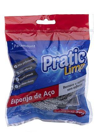 Esponja de Aço Inox Pratic Limp
