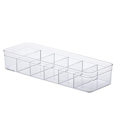 Organizador Diamond Multiuso Com Divisórias Cristal - M3