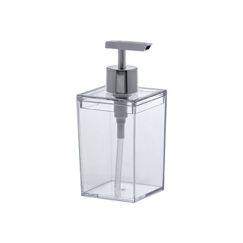 Porta Sabonete Líquido Bagno Quadratta Cristal
