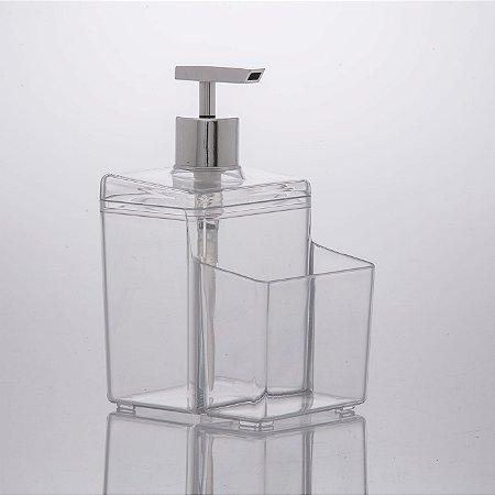 Dispenser 570ml Diamond Prata
