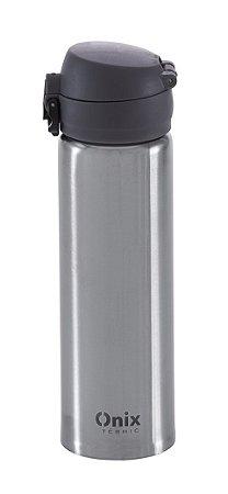 Copo Térmico Aço Inox Com Tampa - 500 ml