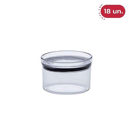 Pote Hermético Lumini Redondo 480 ml - 18 Unidades