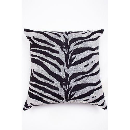 Capa De Almofada Para Sofá Zebra Preto e Branco