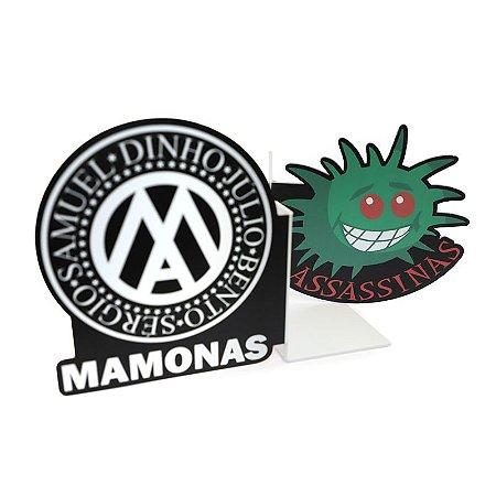 APARADOR DE LIVROS MAMONAS ROCK