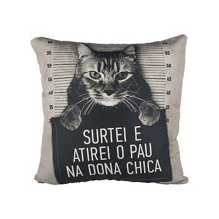 Capa De Almofada 40X40 Dona Chica