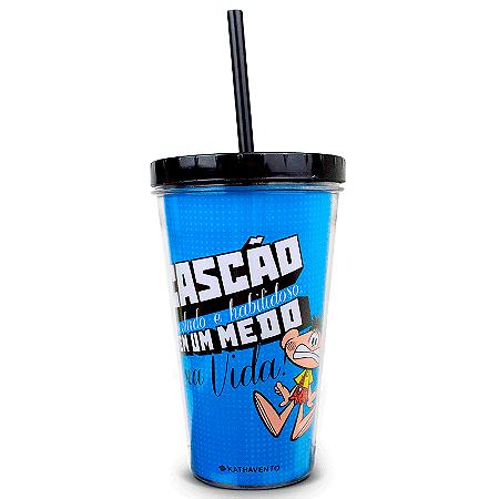 Copo Canudo Cascao Limoeiro - T. Monica