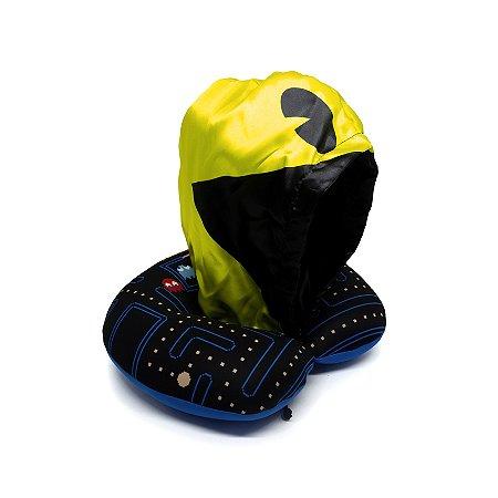 Almofada De Pescoco Com Capuz  Pac-Man