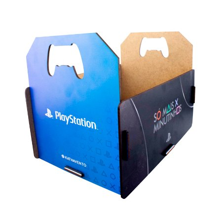 Caixote Porta Jogos Playstation