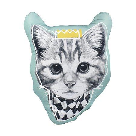 Almofada Purr Formato Gato