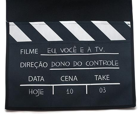 Porta Controle De Sofa Eu, Voce E A Tv