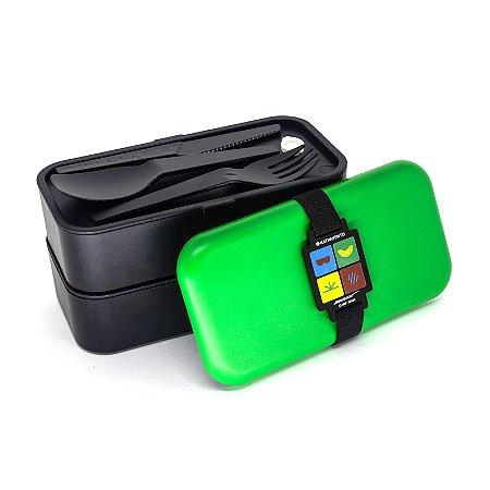T.Monica Lunchbox Dupla - Cebolinha