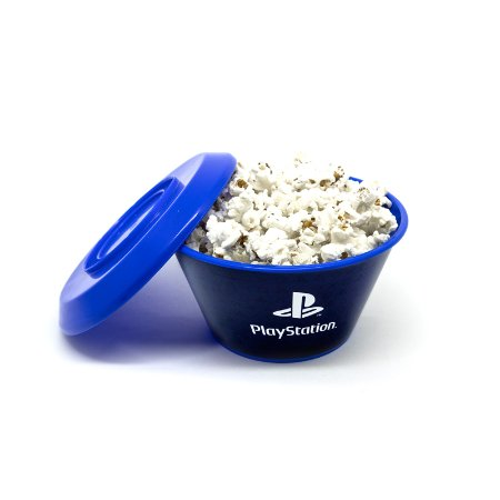 Mini Balde Com Tampa Playstation